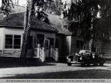 Дом фельдмаршала фон Клюге в его машина.
