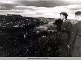 Немецкие солдаты у Днепра.