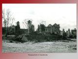 Разрушения в Смоленске.