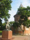 Смоленская крепость - памятник Фёдору Коню