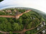 Вид на Смоленскую крепость с высоты птичьего полёт